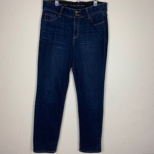 Lane Bryant-Dark Wash High Rise St Leg Jeans s 14s